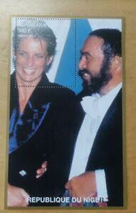 #16 1997 Princess of Wales Lady Diana Miniature Stamp MNH Niger