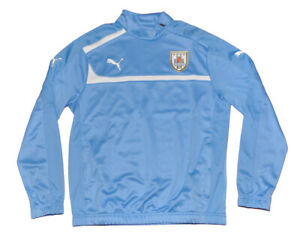 Details about Seleccion Uruguay Soccer National Player Issue zip sweatshirt PUMA M