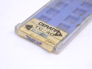 NEW-SURPLUS-6PCS-CERATIP-TBGB-520F-GRADE-TC40-CARBIDE-INSERTS
