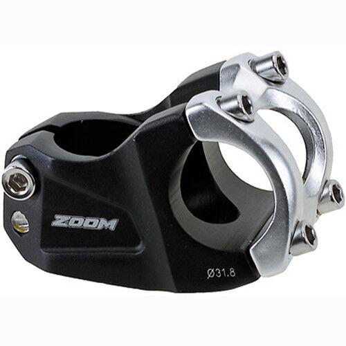 Fahrrad Vorbau ZOOM Downh 28,6 x 31,8 50mm 30° schwarz