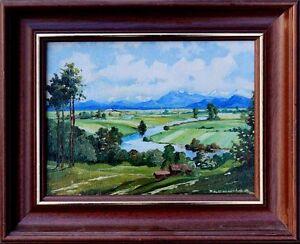 Muenchener-Maler-J-Lengwer-Moderne-Kunst-Landschaft-um-Muenchen-61-055-xxx