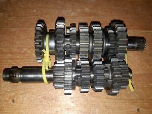 Suzuki-RM125-Transmission-Gears-Shaft-1986-1987-1988