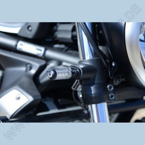 R/&g FRECCE Adattatore davanti Kawasaki Vulcan 650 S//CAFE FRONT INDICATOR adapters