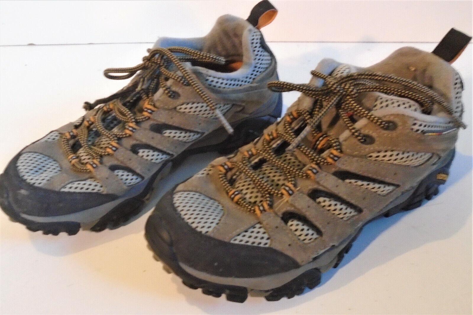 MERRELL Walnut Continuum Vibram Sole Men's Hiking Outdoor Shoes Size 7