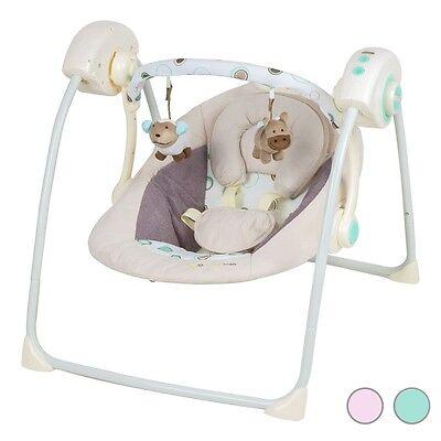 KinderKraft EasySwing Babywippe Babyschaukel Wippe Schaukel Babysitz 2 Farben