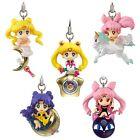 Anime Sailor Moon Twinkle Dolly Part 3 Phone Strap Figure 5pcs Set Charm w Boxs