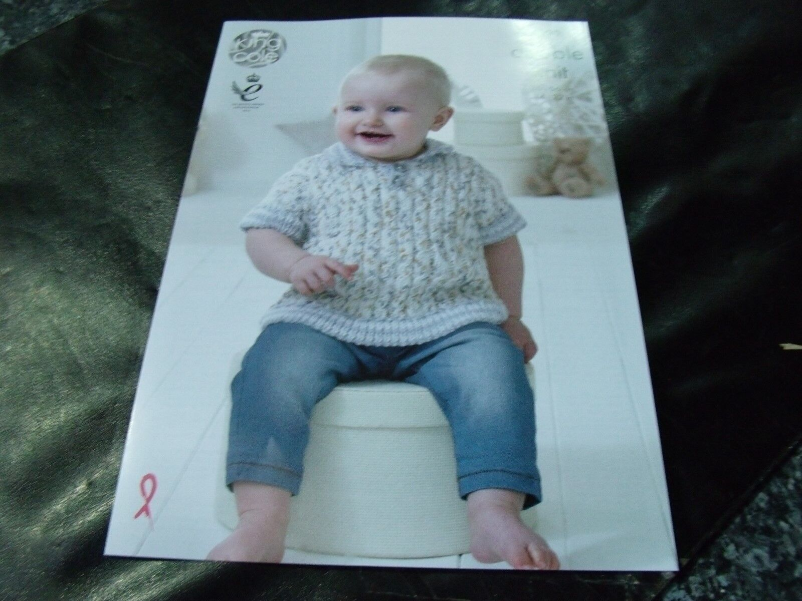 ffff563c4 King Cole Double Knitting Pattern 4899 Baby Set 14 - 22 in for sale ...