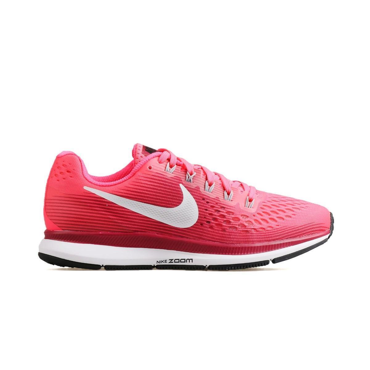 Womens NIKE AIR ZOOM PEGASUS 34 Pink Running Trainers 880560 605