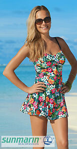 Yet-playful-Swimsuit-with-Skirt-Size-42d-BY-SUNMARIN-NEW-Summer-Pure