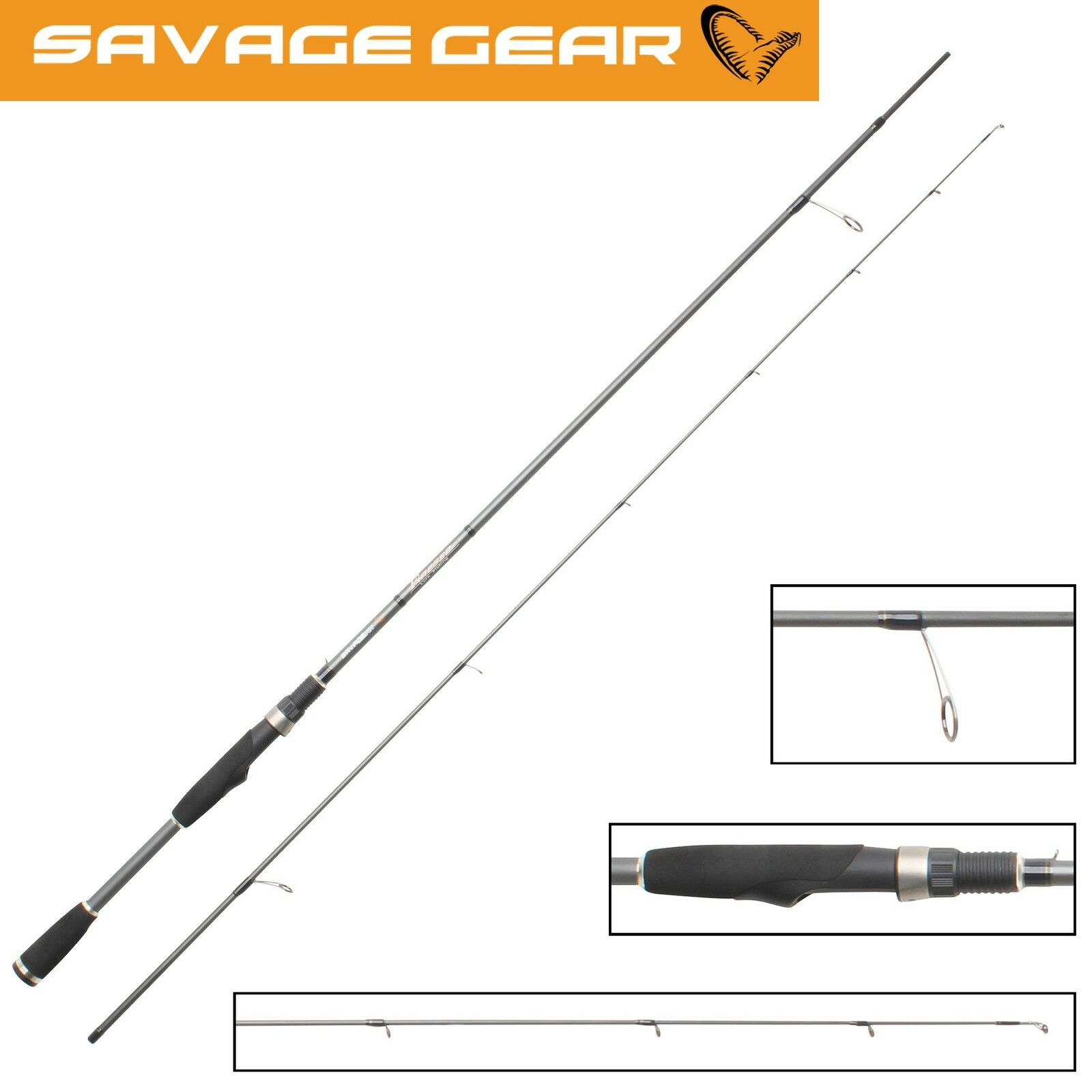 Savage Gear Finezze Dropshot 224cm 2-12g Spinnrute Drop Shot Angeln