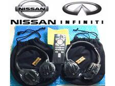 NEW 2014-2016 Infiniti QX60 QX70 QX80 Car Rear Entertainment Remote 2headphones