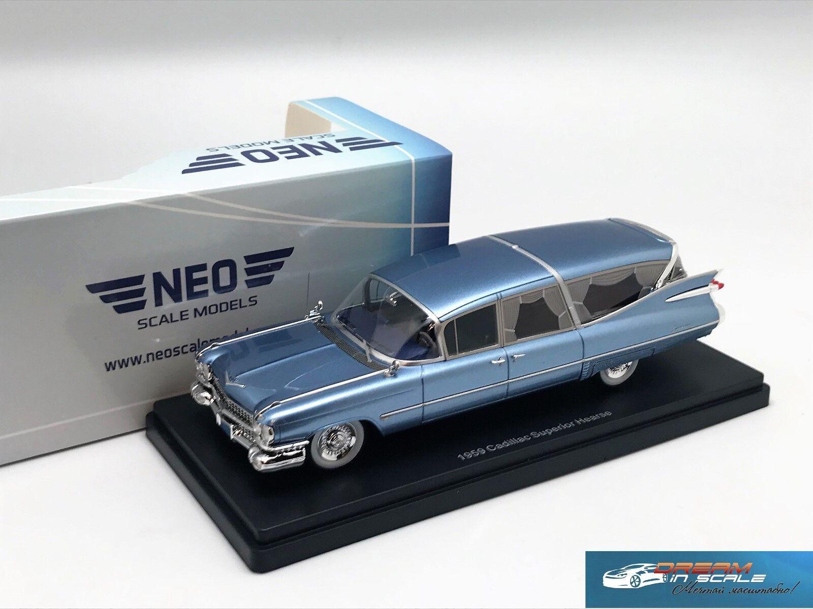 Cadillac S&S Superior Landau 1959 NEO45261 1 43