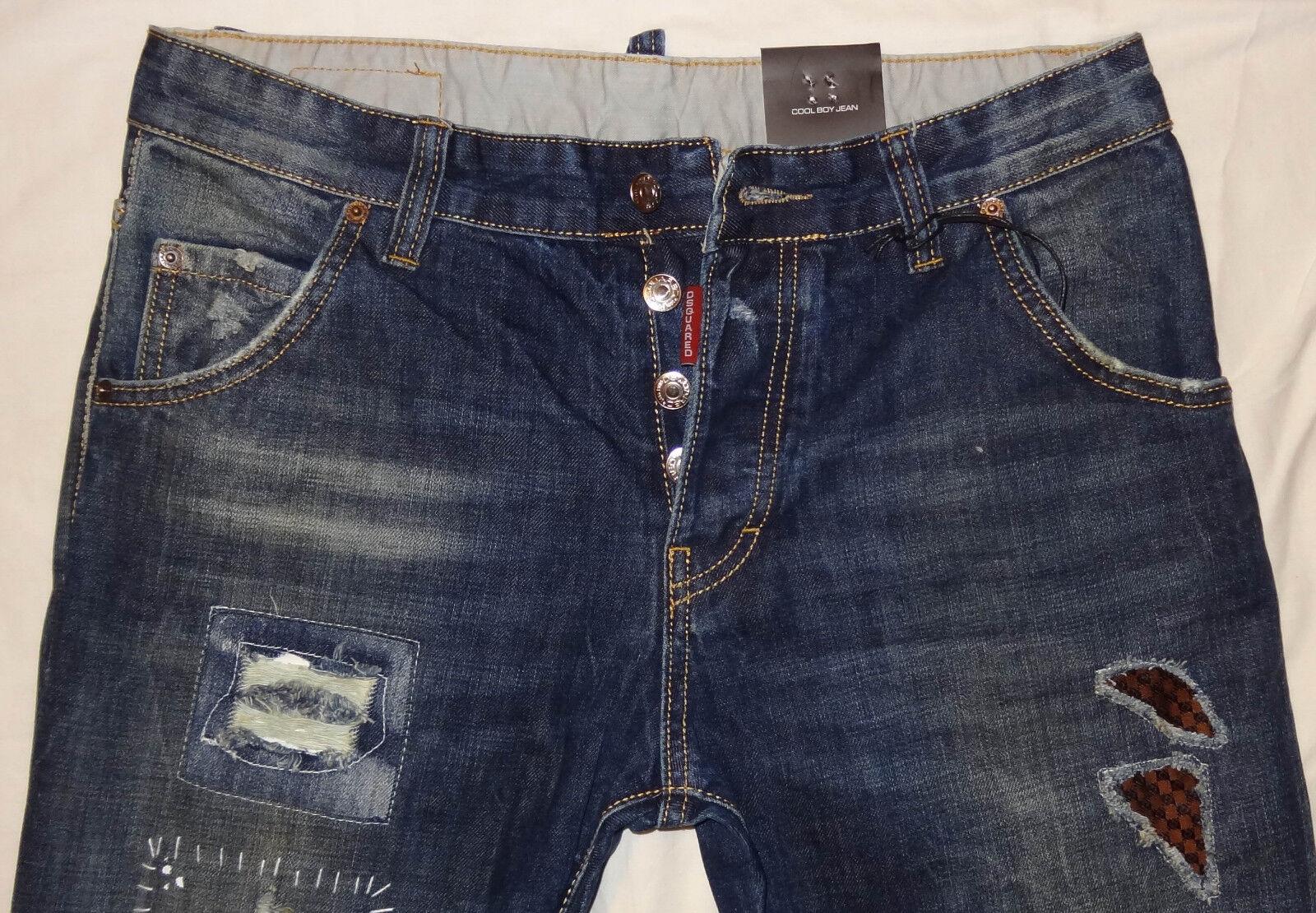 Nuevo  Para Hombre Jeans Dsquarojo 2  hombres Dsq Jeans, Italia tamaño  cerrar la venta   Centro comercial profesional integrado en línea.