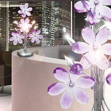 Lampe De Bureau/de Chevet compact Chrome Acrylique violet bureau Salon