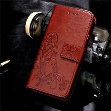 New Pattern Leather Magnetic Flip Wallet Case Cover For iPhone /Samsung /Note/LG