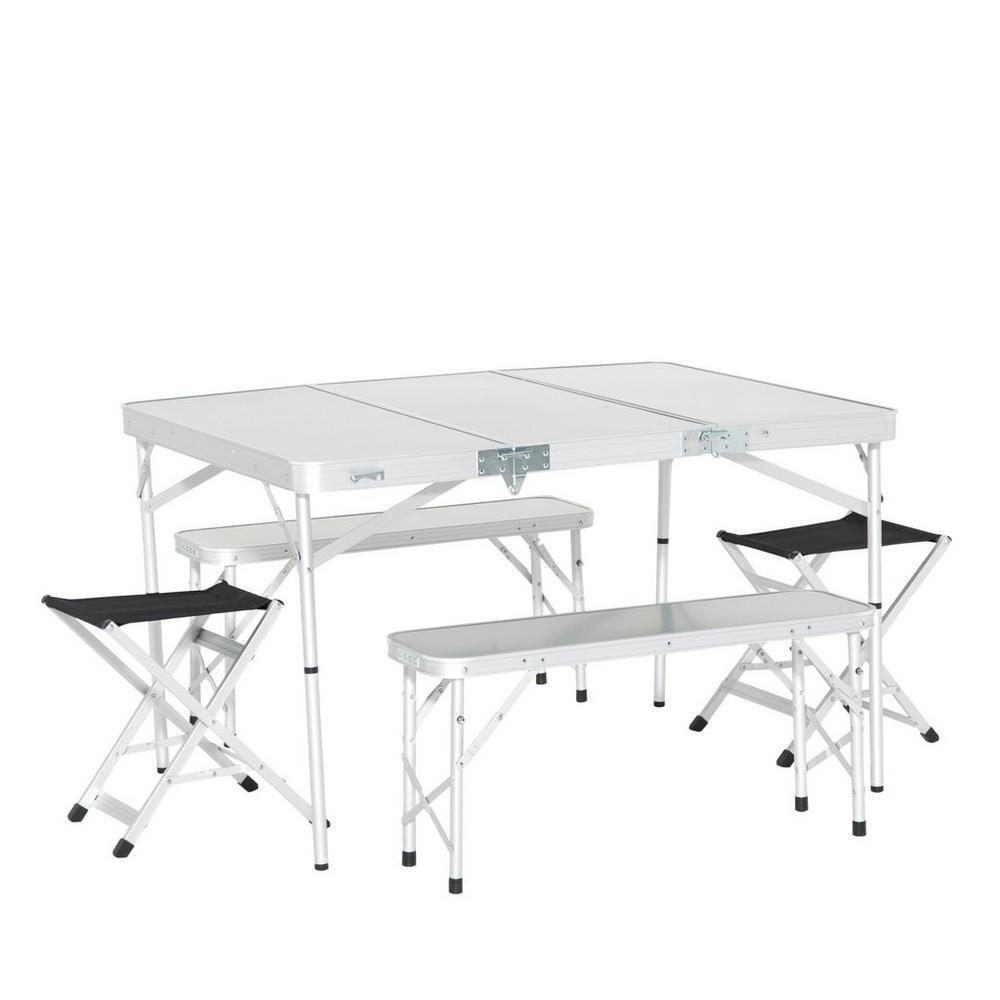 New Eurohike Family Camping Furniture  Picnic Table Set