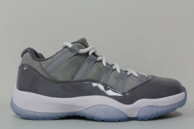on sale 0e7c5 ef9aa Nike Mens Air Jordan 11 Retro Low Size 7 Cool Grey 528895-003