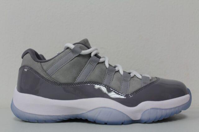 check out bb9fd 9815f Nike Mens Air Jordan 11 Retro Low Cool Grey 528895-003 Size 7