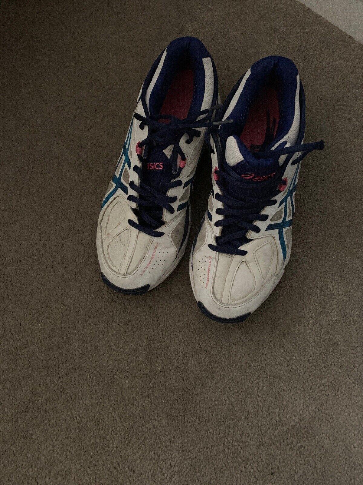 89d5126317 Asics Gel Netburner Profesional blancoo Netball Zapatillas Zapatos Talla  UK7 EU40.5 9 ntgayt3085-Zapatillas deportivas