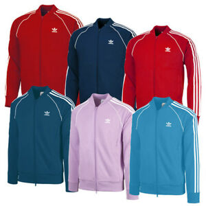 Adidas-SST-Tracktop-Herren-Originals-Jacke-Sport-Freizeit-Trainingsjacke-DH582
