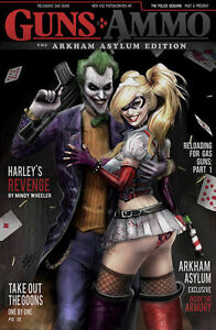 HARLEY-JOKER-GUNS-N-AMMO-ART-PRINT-BY-MINDY-WHEELER-SIGNED-11x17