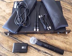 Shure Sm58 Ua Uc (782-806 Mhz) Microphone Sans Fil Système Légèrement Utilisé Excellent-afficher Le Titre D'origine CaractéRistiques Exceptionnelles