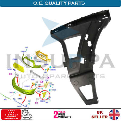 FORD TRANSIT MK8 2014 FRONT BUMPER SMALL BRACKET DRIVER SIDE NEW HIGH QUALITY