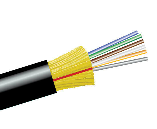 1500ft Indoor Outdoor Fiber Optic Cable 6 Strand Single