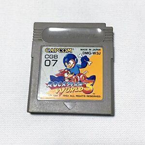 Nintendo-Gameboy-Rockman-World-3-Megaman-Japan-GB