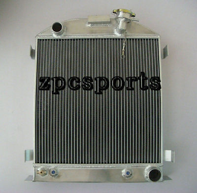 """1939-1940 New 3 Row Radiator Chevy-Engine Ford-Grill-Shells 3/""""-Chopped 39-40"""