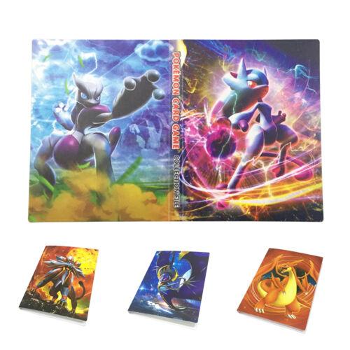240PCS Pokemon Cards Album Book List Collector Folder Capacity Holder Portfolio