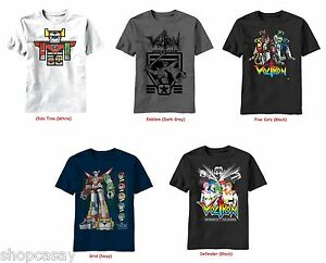 84cab19ca Image is loading Classic-Cartoon-Voltron-Defender-of-the-Universe-and-