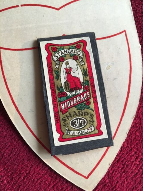National Life Accident Insurance Vintage Antique Needle ...