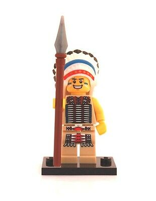 NEW LEGO MINIFIGURES SERIES 3 8803 - Tribal Chief (Indian)