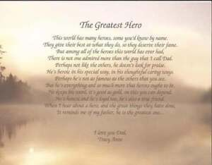 034-The-Greatest-Hero-034-Personalized-Poem-for-Dad-Gift-For-Father-039-s-Day-Birthday