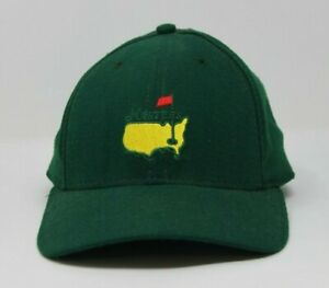 Augusta-National-Small-2001-MASTERS-Embroidered-American-Needle-Green-Fitted-NEW
