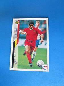 SCIFO-BELGIQUE-BELGIE-Carte-Card-UPPER-DECK-USA-94-1994-panini