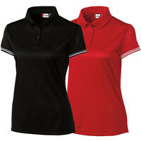 2016 Clique By Cutter And Buck Womens C/s Infinity Lady Ice Pique Golf Polo