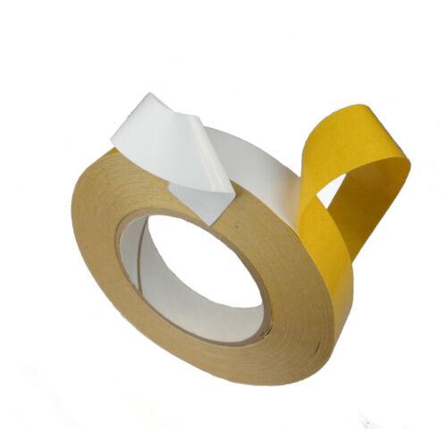 Tesa 4970 ruban adhésif double-sided acrylique ruban high tack 12mm x 10mtr bois//plastique