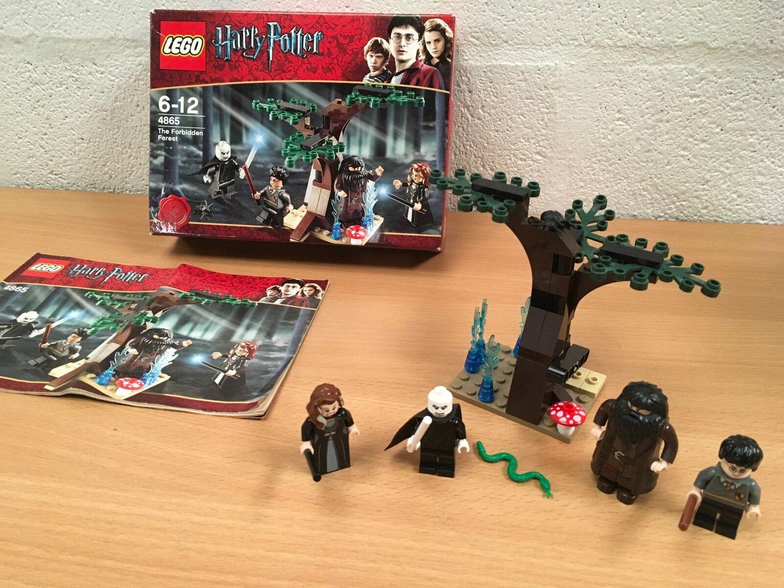 qualità ufficiale Harry Potter LEGO 4865 LA LA LA FORESTA PROIBITA completo in scatola in buonissima condizione  vanno a ruba