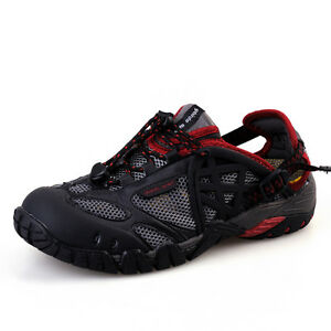 UK Shoes - Mens Fashion Outdoors Water Shoes Trail Hiking Sports Breathable Antiskid Shoes