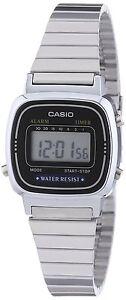 Orologio-CASIO-da-donna-LA670WEA-1EF-Acciaio-Piccolo-Vintage-Watch