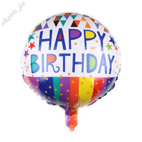Folienballons Glücklich Geburtstag Nummer Tier Helium Luftballons Party Dekor
