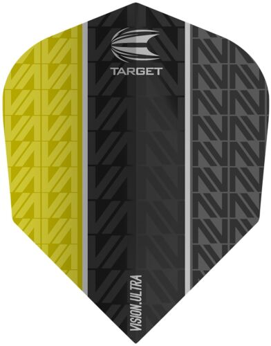 Target Vapor 8 Black Vision Ultra Yellow No.6 Dart Flights