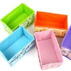 Foldable Collapsible Canvas Fabric Storage Box Cartoon Animal Drawers Organizer