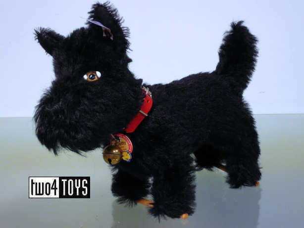 STEIFF Ltd SCOTTY TERRIER DOG 1934 REPLICA - 20 cm cm cm   8in. EAN 402067 RETIrot 86c009