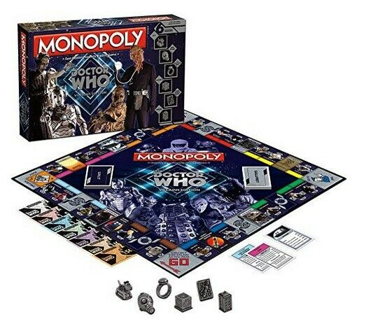 Usaopoly Doctor Who Méchants Edition Monopoly Board Game