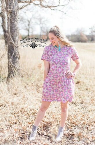 The B O N I T A FLORAL DRESS **  BY CRAZY TRAIN