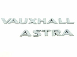 Genuine-New-VAUXHALL-amp-ASTRA-H-BOOT-BADGES-Logo-Emblem-2004-2010-CDTi