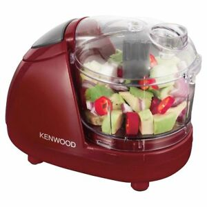 Kenwood CH181A Mini Chopper 300W Red 150g Chopping Capacity Dishwasher Safe